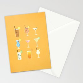 Mixed Drinks Stationery Cards