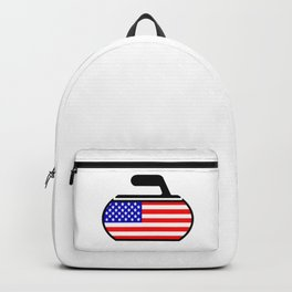 USA Curling Backpack