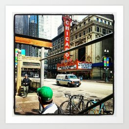 Chicago Color Art Print