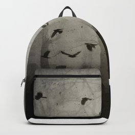 Gothic Crows Eerie Ceremony Backpack
