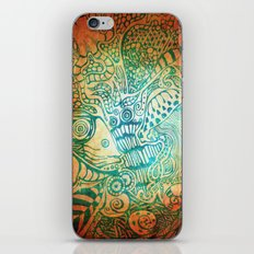 Sea Swirl iPhone & iPod Skin