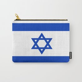 Flag of Israel Carry-All Pouch