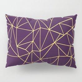 Ultra Purple Geo Pillow Sham