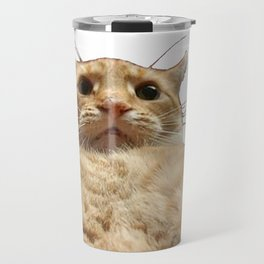Cat Selfie Travel Mug