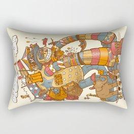 Circusbot Rectangular Pillow