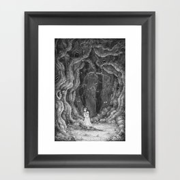 You are never alone Framed Art Print