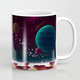 Beautiful Space Background Coffee Mug