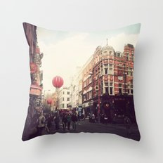 Chinatown , London. Throw Pillow