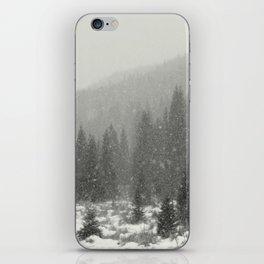 Mountain Snow iPhone Skin