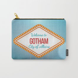 Welcome to Gotham City of Villains Carry-All Pouch
