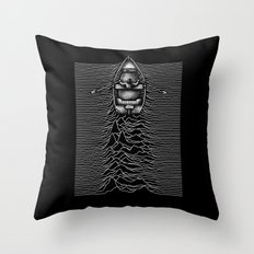Unknown Waters Throw Pillow