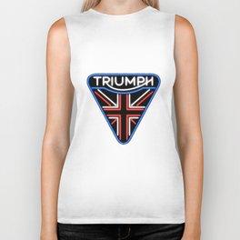Triumph Neon Sign Biker Tank