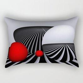go red -2- Rectangular Pillow