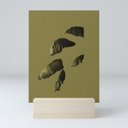deconstructed palm Mini Art Print