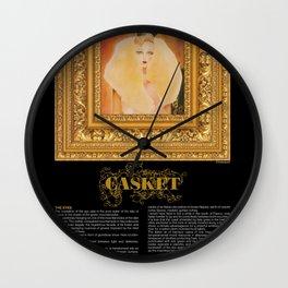 Casquet2 Wall Clock