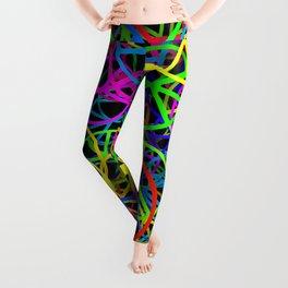 Groovy Peace Rainbow Leggings