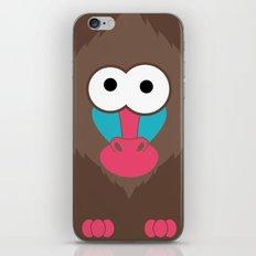 Minimal Baboon iPhone & iPod Skin