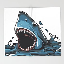 Shark Throw Blanket