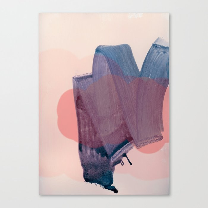 brush strokes 1 Canvas Print