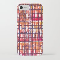 plaid iPhone & iPod Cases featuring Plaid by Selkiesong