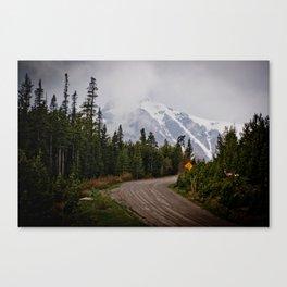The back roads Canvas Print