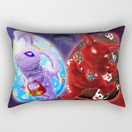 Easter - Angelic VS Evil Rectangular Pillow