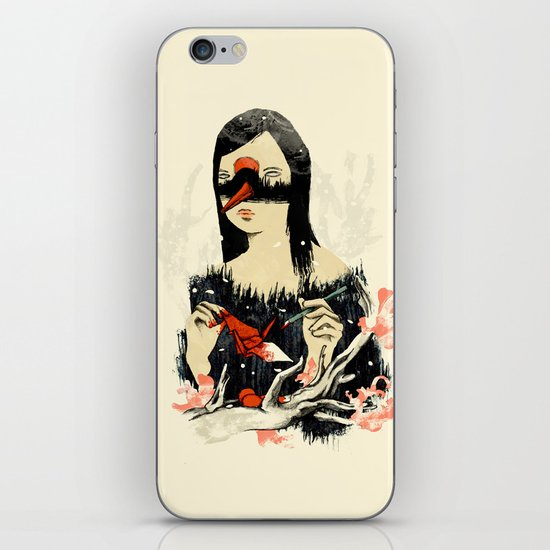 The Crane Wife iPhone & iPod Skin