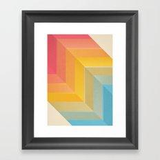 Back and Forth Framed Art Print