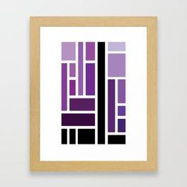 Dusk Tiles Framed Art Print