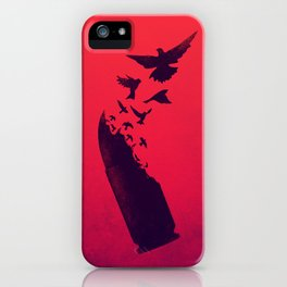 Bullet Birds iPhone Case