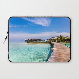 To My Bungalow in the Maldives Laptop Sleeve