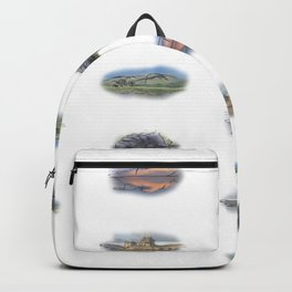 Highland Landmarks, Scotland. Backpack