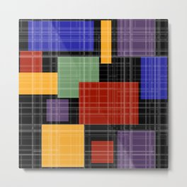 Multi-colored patchwork5 Metal Print
