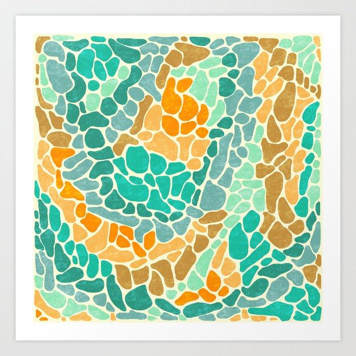 Shapes 2 Art Print