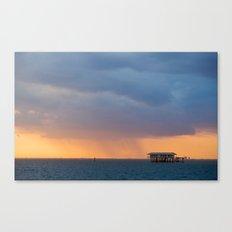 Stiltsville Miami Florida Canvas Print