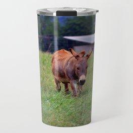 Sicilian Donkey Travel Mug