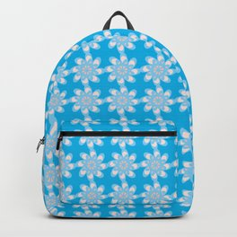 Script Floral Letter O Pattern Backpack