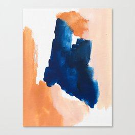 thursday afternoon: abstract painting Canvas Print