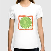 lime T-shirts featuring LIME by Tanya Pligina