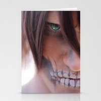 titan Stationery Cards featuring Titan by 3dbrooke
