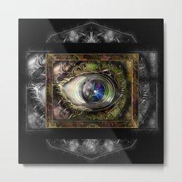 Eye of the Elemental Universe Metal Print