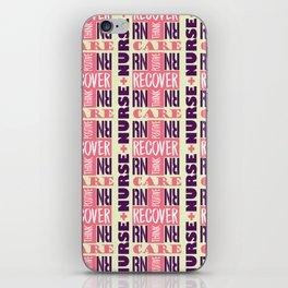 Nurse Tile Pattern iPhone Skin