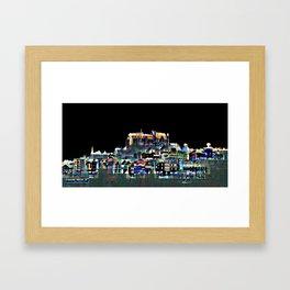 City tour Marburg Framed Art Print