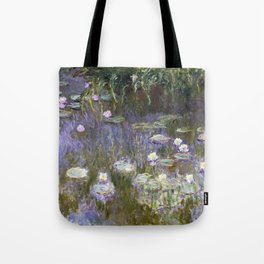Water Lilies 1922 by Claude Monet Tote Bag