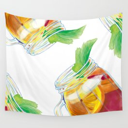 Summer Cocktail Wall Tapestry