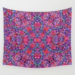 Boho Red Wall Tapestry