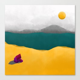 Simple Housing - Beyond the sea Canvas Print