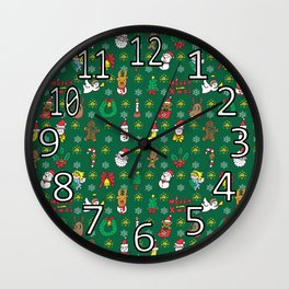 Merry Chistmas Wall Clock