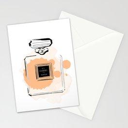 Orange perfume #3 Stationery Cards