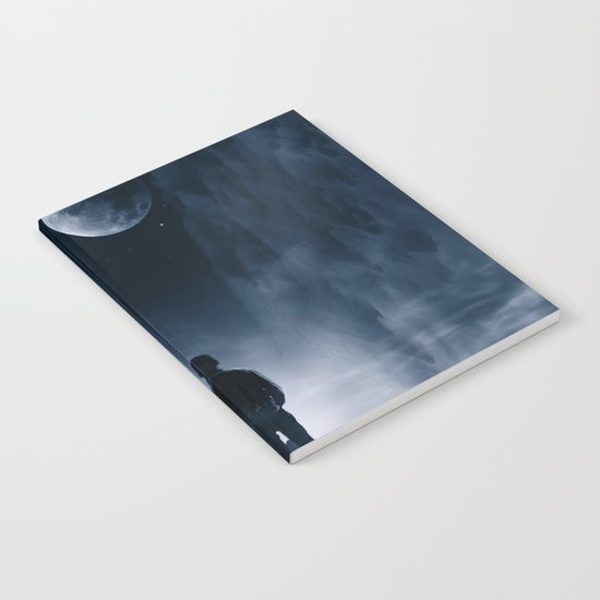 Blue Dream Night Notebook